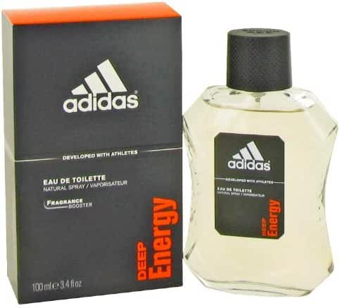 Adidas Deep Energy by Adidas For Men. Eau De Toilette Spray 3.4-Ounces
