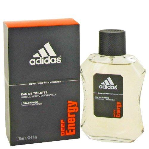 - Adidas Deep Energy by Adidas For Men. Eau De Toilette Spray 3.4-Ounces