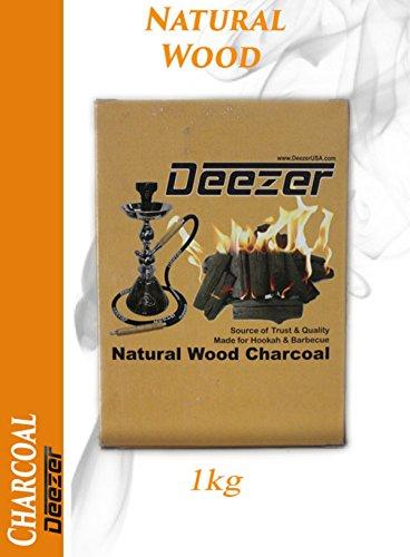 Deezer Natural Wood Charcoal 1kg