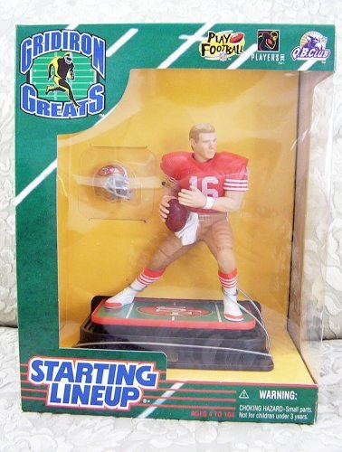 1997 NFL Starting Lineup Gridiron Greats - Joe Montana - San Francisco 49ers