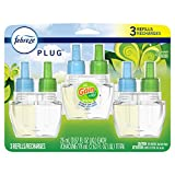 Febreze Odor-Eliminating Plug in Air Freshener Scented Oil Refill, Gain Original Scent, 3 Count