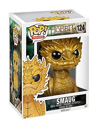 Funko - Figurine The Hobbit - Golden Smaug Pop 15cm - 0849803044305