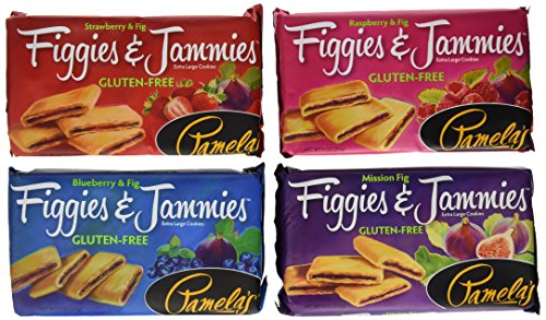 Pamela's Products Gluten Free Figgies and Jammies Variety Pack