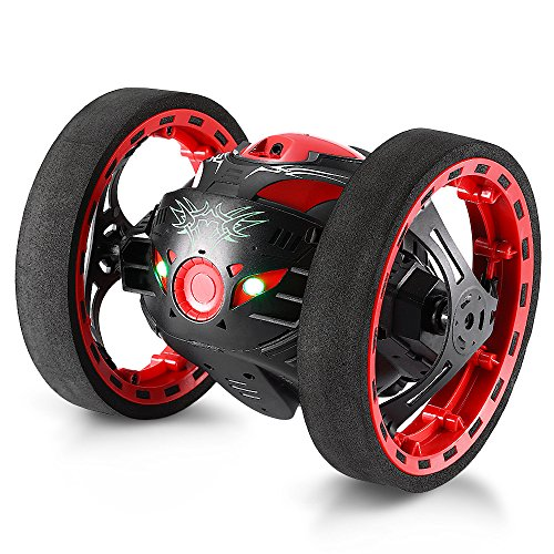 GBlife 2.4GHz Wireless Remote Control Jumping RC Toy Cars Bounce Car No WiFi Kids (Black)