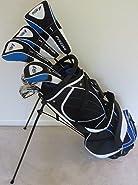 """Tall Mens Complete Golf Set for Men 6'0""""- 6'6"""" Tall Regular Flex Right Handed"""