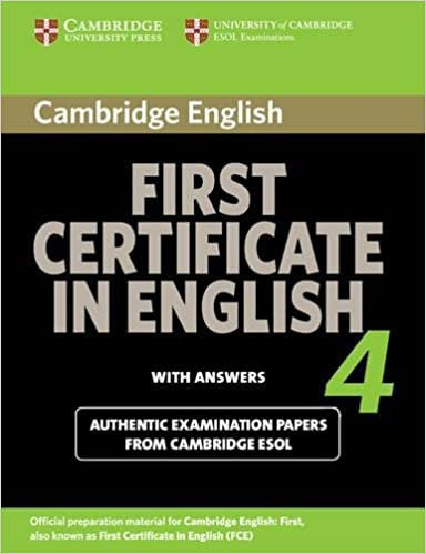Amazon cambridge first certificate in english 4 for updated exam amazon cambridge first certificate in english 4 for updated exam students book with answers official examination papers from university of cambridge yelopaper Image collections
