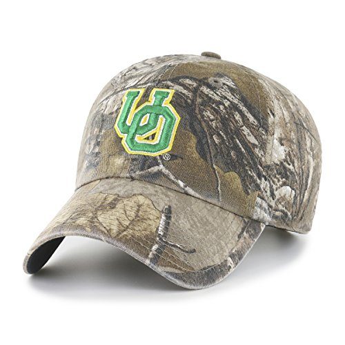 NCAA Oregon Ducks Realtree OTS Challenger Adjustable Hat, Realtree Camo, One Size (Oregon Ducks Baseball)