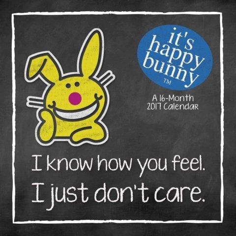 It's Happy Bunny Calendar 2017 -- Deluxe It's Happy Bunny Wall Calendar (12x12)