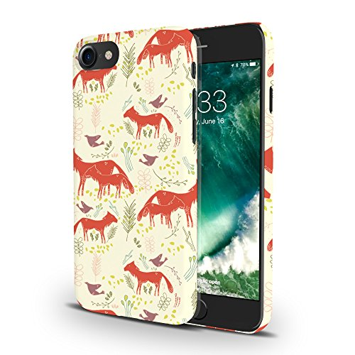Koveru Back Cover Case for Apple iPhone 7 - Roaming Foxes