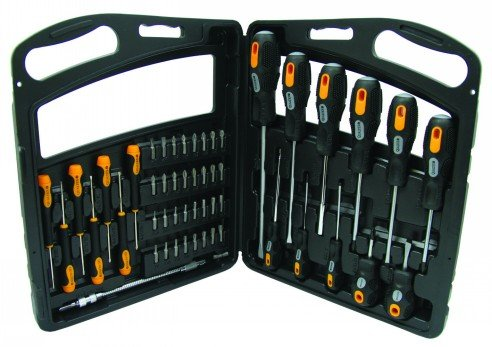 52 Piece Screwdriver Kit - By Engineers, for Engineers (Everything you need to take apart most vacuum cleaners including Dyson!) Qualtex