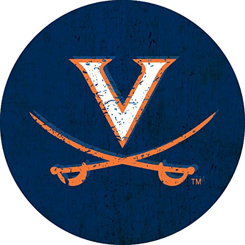 University of Virginia Cavaliers Distressed Wood Grain 4