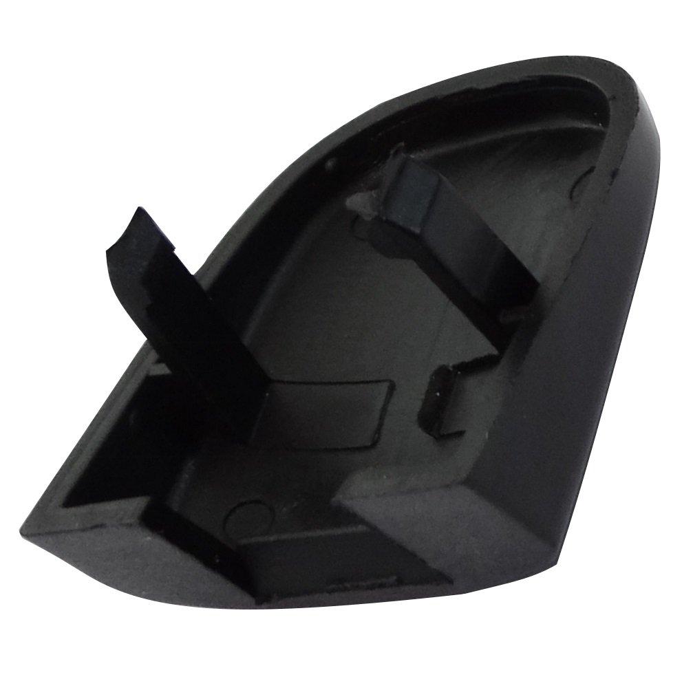 Aerzetix Cache noir de poign/ée porte arri/ère pour auto voiture C17036