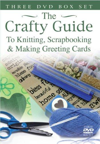 Crafty Guide - Knitting/Scrapbooking/Making Greeting Cards [DVD] -