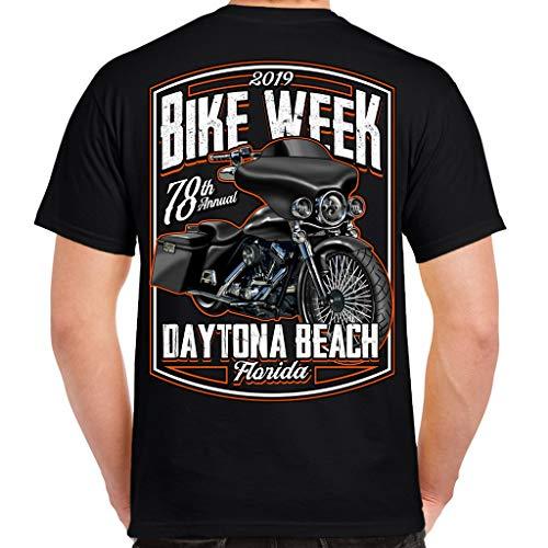 2019 Bike Week Daytona Beach Hot Bagger T-Shirt