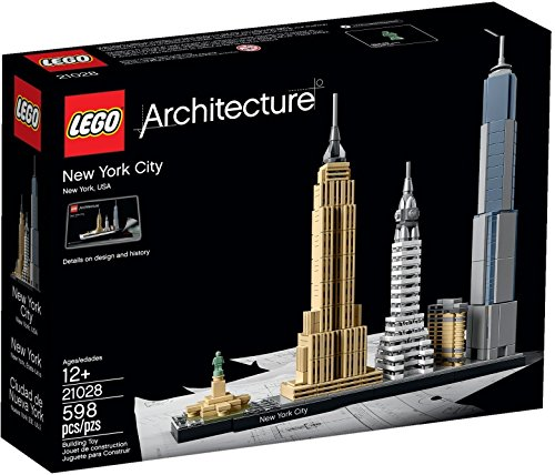 (USA Warehouse) 2016 LEGO ARCHITECTURE NEW YORK CITY 21028, NEW, HARD TO FIND, GREAT GIFT! **ITEM#NO: 43E8E-UFE6 C2A22247 (New York City Lego Set)