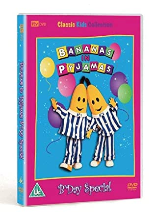 bananas in pyjamas dvd