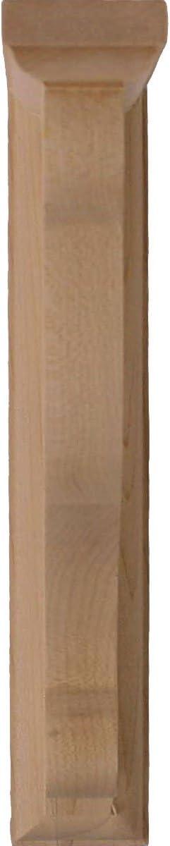 2-Pack Ekena Millwork BKT01X06X08BUCH-CASE-2 Bulwark Bracket 2 2 Cherry 1 1//2 W x 6 D x 8 1//2 H