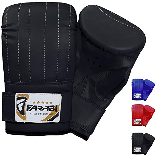 Boxing punch bag mitt gloves punching boxing gloves mma training (Large)