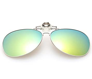 ZHLONG Polarisierte Sonnenbrille Clip UV Clip bunte Sonnenbrille clip , 3
