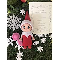 Baby elf girl on the look for a family, Elf shelf baby, Elf girl, Girl baby elf