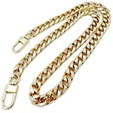 High-Grade Wide 10mm Golden Chain for Women Bags Replacement Purse Chain Strap Chain Purse Bag Strap