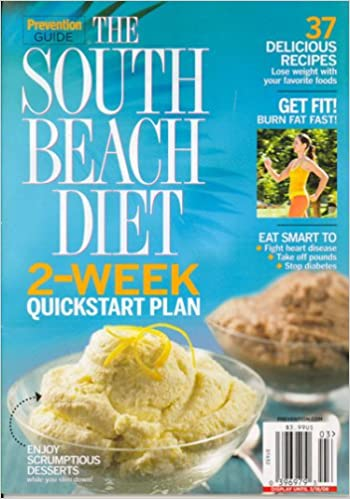 Prevention Guide, The South Beach Diet 2-Week Quickstart Plan, Issue 3 2008  Issue: Editors of PREVENTION GUIDE Magazine: Amazon.com: Books