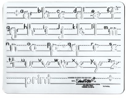 amazon com school rite handwriting templates manuscript lowercase