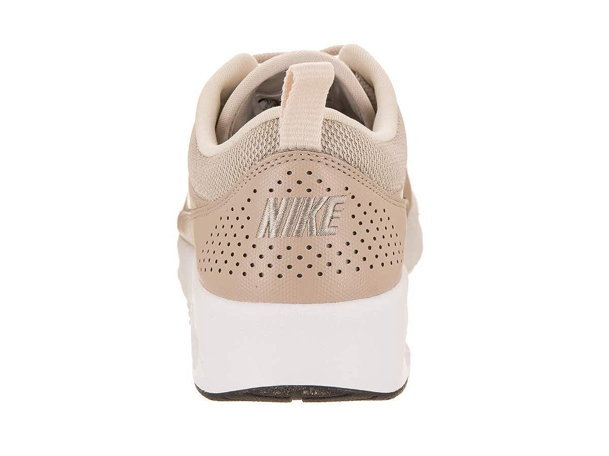 Nike Damen Air Max Thea Fitnessschuhe, Mehrfarbig (StringLight CreamBlackWhite 205), 43 EU