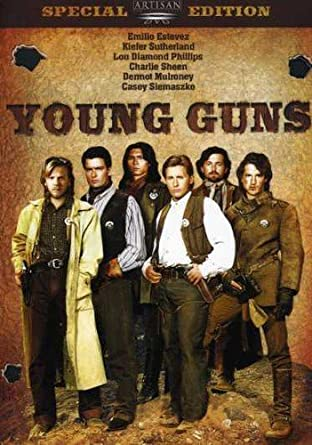 Young Guns 2 Good Bye Bob Adult T Shirt Classic Movie