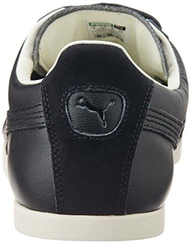 Puma Catskill Citi Series - zapatilla deportiva de cuero Unisex adulto negro - Schwarz (black-whisper white 01)