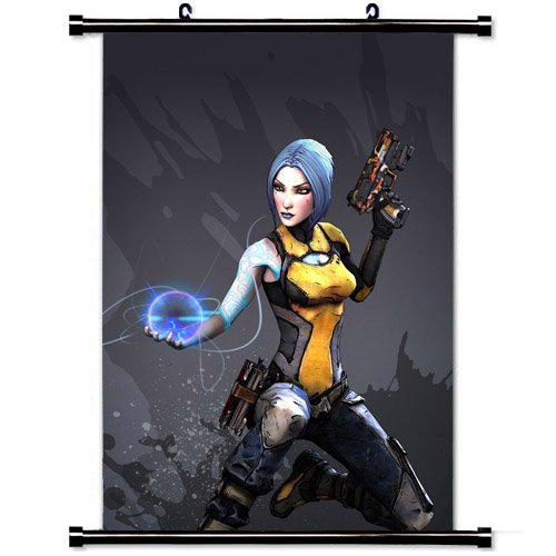 Art Poster with Maya Borderlands Game Wall Scroll Poster Fabric Painting 24 by 36-Inch(60 X 90 cm)