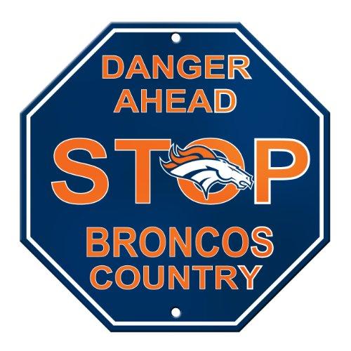 Fremont Die NFL Denver Broncos Stop Sign ()