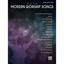 2016 Modern Worship Songs: For Piano/Vocal/Guitar