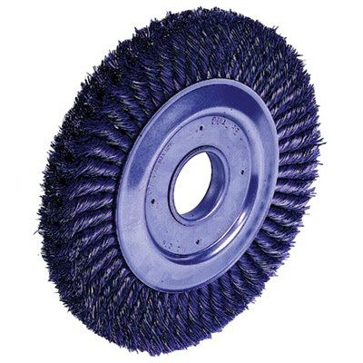 SEPTLS80409480 - Weiler Dualife Wide-Face Standard Twist Knot Wire Wheels - 09480 by Weiler