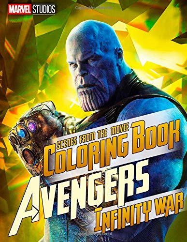 MARVEL Avengers Infinity War Coloring Book Great Scenes from the Movie (2018) [Mortal, John] (Tapa Blanda)