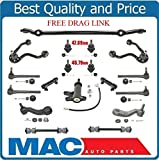 1996 chevy k1500 ball joint kit - Front Suspension and Steering Kit Includes Ball Joints Outer Inner Rods Free Drag Link for 95-99 Yukon Tahoe K1500 4x4 All Wheel Drive