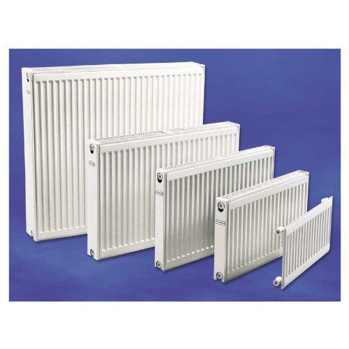 Eurotherm hku11605 Perfil Radiador, moderno radiadores compactos, plano Radiador tipo 11, tamaño 600 x 500 mm, también para uso como Válvula de radiadores ...