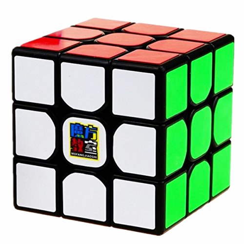 CuberSpeed Moyu MoFang JiaoShi MF3RS2 Black 3x3x3 Magic Cube Cubing Classroom MF3RS V2 3X3 Black Speed Cube