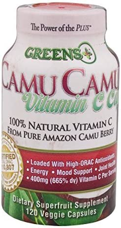 Greens Natural Camu Camu Berry Vitamin C