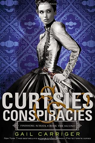 book cover of Curtsies and Conspiracies