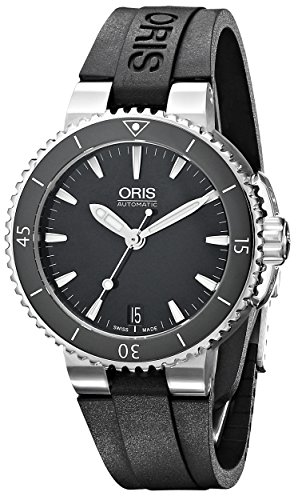 Oris Women's 73376524154RS Analog Display Swiss Automatic Black Watch