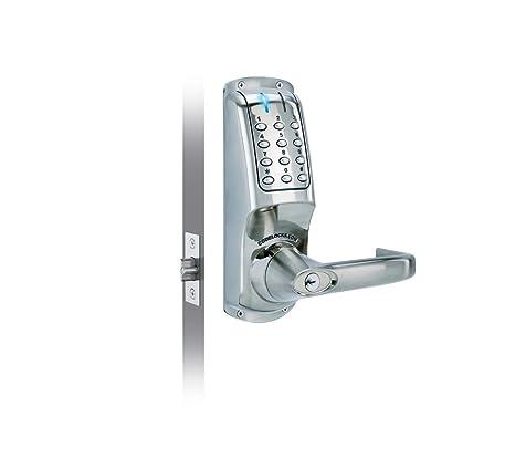 Codelocks - Manilla con cerradura de seguridad por código numérico digital de entrada y salida