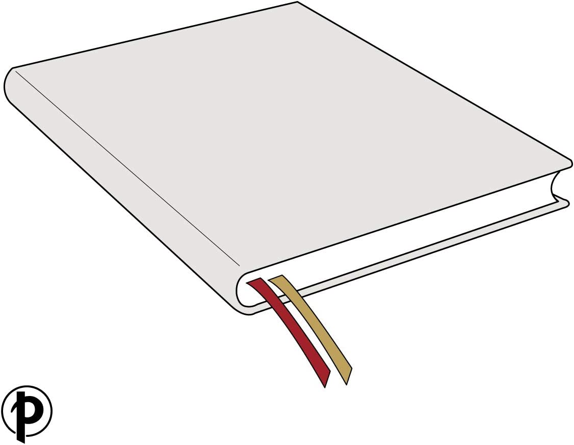 210 /× 300 mm Grande Paperblanks Diari a Copertina Rigida Cloe Bianco