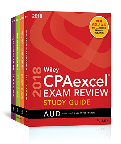 Pdf Test Preparation Wiley CPAexcel Exam Review 2018 Study Guide: Complete Set (Wiley Cpa Exam Review)
