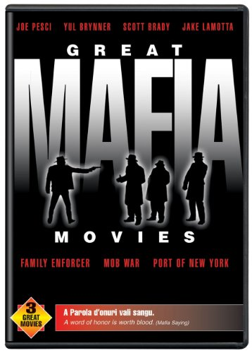 Adrianna Collection - Great Mafia Movies (Family Enforcer / Mob War / Port of New York)