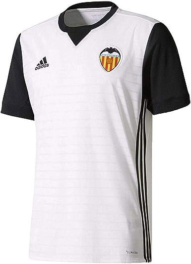 adidas Vcf H Jsy Camiseta de Equipación Valencia CF 2017-2018 ...