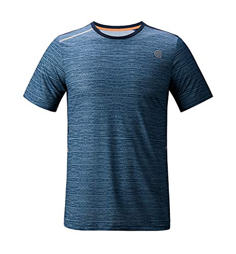 ZITY Men's Polyester Dry Fit Moisture Wicking Short-Sleeve Athletic ()