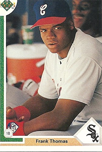 FRANK THOMAS ROOKIE CARD - 1991 UPPER DECK BASEBALL CARD #246 (CHICAGO WHITE SOX) FREE SHIPPING