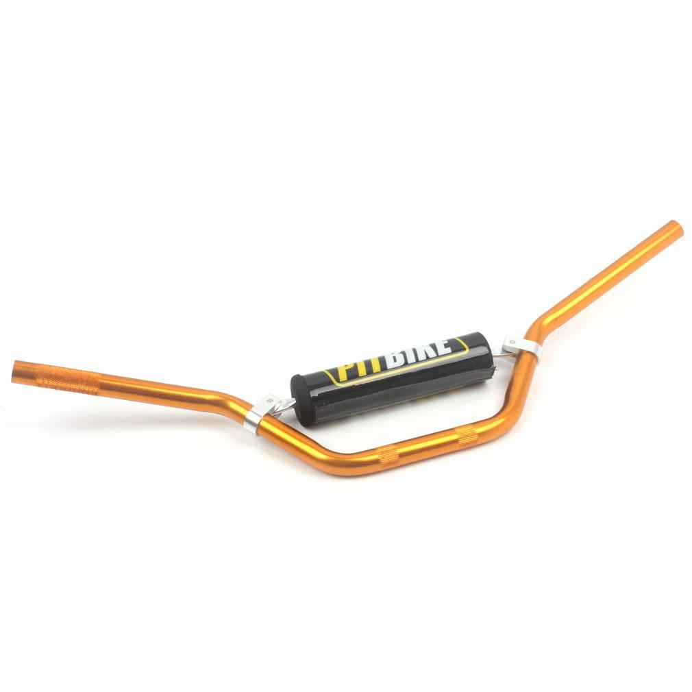 wingsmoto Moto 7//8/22/mm Manubrio manipuler Bar con schiuma tampone per CRF YZF KXF klx RMZ Drz KTM Fosse sporco Bicicletta Motocross ATV QUAD NERO