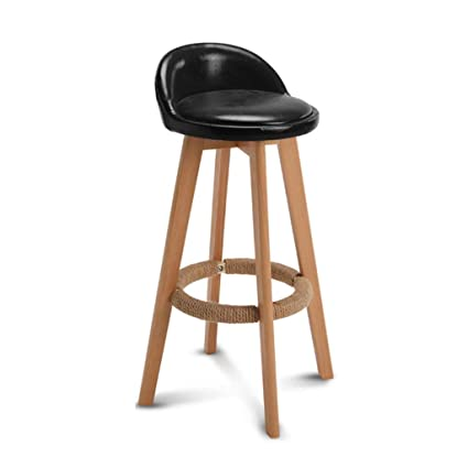 Prime Amazon Com 30 Inch Wooden Round Bar Stool Bar Stool Alphanode Cool Chair Designs And Ideas Alphanodeonline